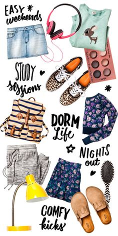 For shuttling between classes or doing up your dorm room, these back-to-college essentials won't disappoint.