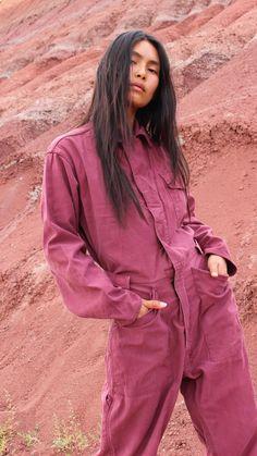 Upcycled Vintage Military Velcro Flysuit-Painted Desert — Orenda Tribe