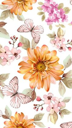 Discover thousands of images about Flower Background Wallpaper, Flower Phone Wallpaper, Flower Backgrounds, Screen Wallpaper, Wallpaper Backgrounds, Iphone Wallpaper, Instagram Background, Pretty Wallpapers, Vintage Floral Wallpapers
