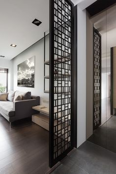 Another Asian inspired structure for a confortable privacy. Love the minimal size of it