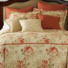 coral bedding   American Living Coral Gates Comforter Set & Access   Shop kids ...