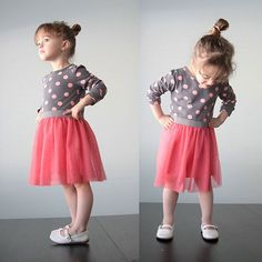 simple sewing tutorial for a cute girls' ballet inspired dress