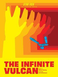 Star Trek Animated Juan Ortiz Poster 7......The Infinite Vulcan