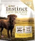 The secret to Nature's Variety Instinct Raw Boost Kibble's amazing nutrition is its blend of grain free, gluten free kibble and chunks of freeze dried raw. The kibble is high in protein and low in carbohydrates, giving your dog a diet rich in the meat protein he instinctively craves.  Special Savings at www.CatnipnBones.com
