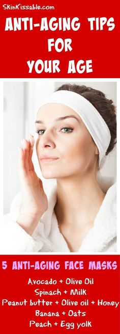 Discover how to take care of the skin throughout the different ages with tips and DIY remedies.