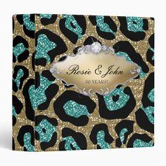 Leopard Glitter Monogram / Back 2 School Binder Back 2 School, Binder Inserts, 3 Ring Binders, Binder Design, Custom Binders, Photo Quality, Unique Weddings, Special Day, Wedding Invitations