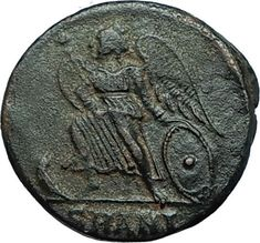 CONSTANTINE I the GREAT Founds Constantinople Original Ancient Roman Coin i66298