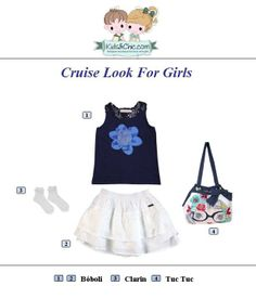 #Summer #look for #girls from #TucTuc #Boboli #Clarin. Check at https://www.kidsandchic.com/girl  #girlsclothing #girlsfashion #kidsfashion #trendychildren #kidsclothing #shoppingbarcelona