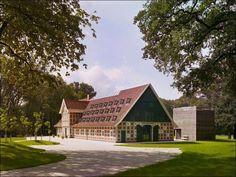Hallenhaus: загородный дом в Германии, Фисбек