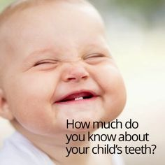 The American Academy of Pediatric Dentistry (AAPD) www.aapd.org says in order to prevent #dental problems your #child should see a dentist when the 1st #tooth appears or no later than the 1st birthday.