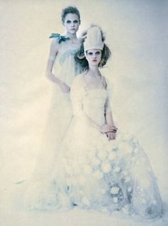 "so splendid and magic"" by Paolo Roversi for vogue Italia Supplement March 2005"