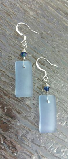 Check out this item in my Etsy shop https://www.etsy.com/listing/240302785/sea-glass-earrings-blue-sea-glass