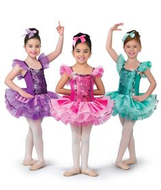 - I Belong colors: 27 Fuchsia, 76 Jade, 88 Orchid by A Wish Come True Dance Picture Poses, Family Picture Poses, Dance Pictures, Girls Dance Costumes, Ballet Costumes, Tutu Ballet, Ballet Dancers, Girls Formal Dresses, Little Girl Dresses