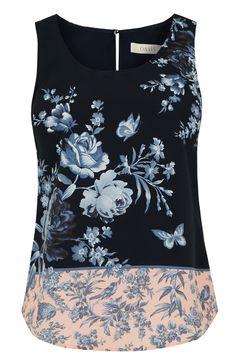 Placement Floral Vest