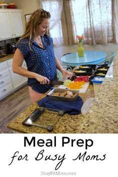 The Do's and Don'ts of Meal Prepping for Busy Moms - Stay Fit Mom Make Ahead Meals, No Cook Meals, Easy Meals, Clean Recipes, Healthy Recipes, Delicious Recipes, Diet Recipes, Cooking Recipes, Protein