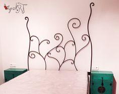 Camas de forja de diseños exclusivos de http://virginiart.es cabeceros de cama fabricados de forma artesanal. Somos expertos en diseño y decoración en muebles de forja.