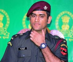 Ex Indian Cricket Team Captain & a Lt Colonel in the Indian Army - M.S Dhoni. How many ❤ for him...? #indian #india #cricket #crickter #msdhoni #dhoni #army #captain #team #colonel #ex #like4like #like #follow4follow #instamood #instacool #instagood #Instagram #press #pic #picoftheday