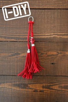 Skull tassel: DIY for purses or a keychain