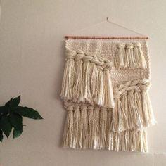 Weaving wall hanging tapestry by Maryanne Moodie  www.maryannemoodie.com
