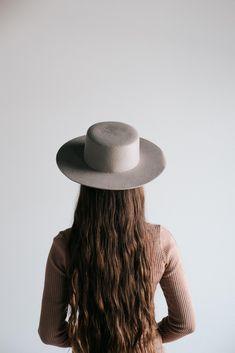 987191a5f9 Dahlia Light Gray - Women s Boater Hat