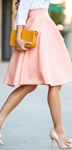 Such a cute outfit and great for so many occasions! Great women's fashion and such a cute skirt! --
