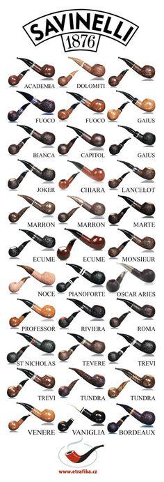 Dýmky Savinelli 320 Savinelli 320 pipes