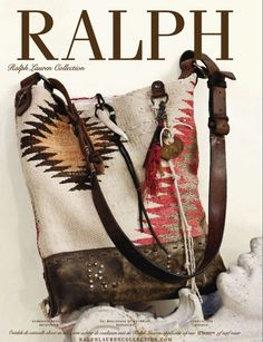 Ralph Lauren handbag - I love this bag so much, I think I pin it everytime I see it!