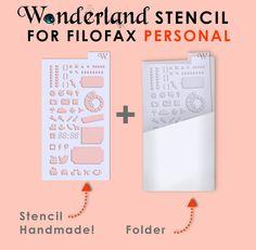 Lucy-Wonderland: planner stencil!
