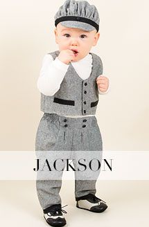 Designer Boys Infant Clothing Boys Christening Suit Braden