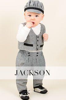 Boys Christening Suit - Braden Christening & Baptism Collection