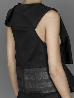 JT Jessica Trosman multi panel waistcoat #jt #jessicatrosman