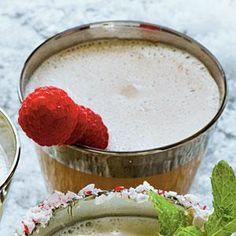 Chocolate-Raspberry Milk Punch Recipe | MyRecipes.com