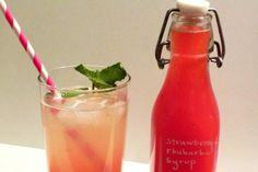 Strawberry Rhubarb Drink Recipe