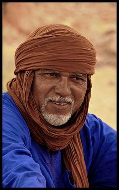 :: Tuareg > Hoggar > Southern Algeria ::    My Tuareg friend, Salah...