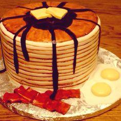Pancake cake!! Amazing cake by Manna's Cakes!!!