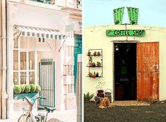 decoracion_exterior_comercios_cafeterias_restaurantes_sencillo_blog_apm_interiorismo_diseño_5_6 Coffee Shop, Shops, Blog, Shopping, Ideas, Simple, Past Tense, Street, Places To Visit