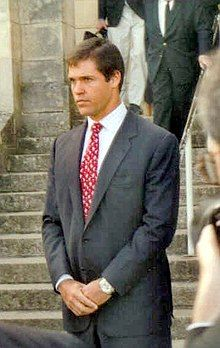 Prince Louis De Bourbon, Duke of Anjou. Related to the Prince through my great-grandparents, John Talcott and Helen Wakeman. Bourbon, Hugh Capet, French Prince, Duc D'anjou, Queen Victoria Descendants, French Royalty, Madrid, St Peters Basilica, French History