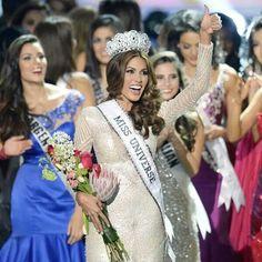 #MissVenezuela #GabrielaIsler is the #MissUniverse2013  #MissUniverse