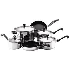 4 Cookware Sets Under $80 for the Holidays 4. FARBERWARE CLASSIC 10-PIECE ($70)
