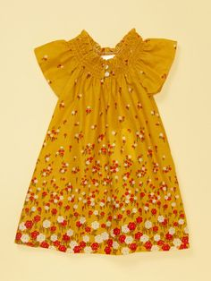 Smocked Flower Dress by Buckleberry Kids at Gilt