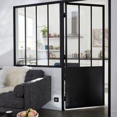 Bloc porte Atelier noir 83 cm p.gauche   Castorama. Pour créer une ... fba726d5bfb