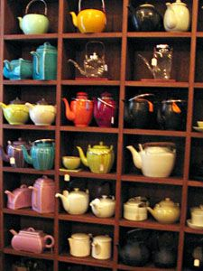 teapots at mariage frres in the marais district of paris - Mariage Freres Nancy