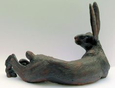 I love hares, I wish a had a place for this. I don't think its for sale.