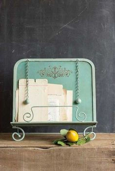 25 Decor Pieces Under $50 to Glam Up Any Room: COTTAGE RECIPE BOOK HOLDER. Put all your recipes in one classy organizer so you never have to worry about losing that secret lasagna recipe you still can't commit to memory. ($34; Dot & Bo)