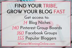 Find Your Tribe Online