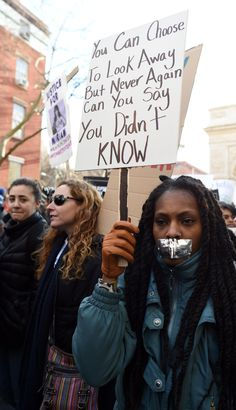 The Most Moving Pictures From the Million March Protests Crafts March Million Moving pictures protest posters peace Protests Protest Posters, Protest Signs, Protest Art, Intersectional Feminism, Power To The People, Foto Instagram, Religion, Victor Hugo, Frases