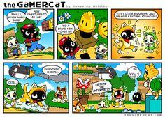 the GaMERCaT :: Super Meowio World   Tapastic Comics - image 1
