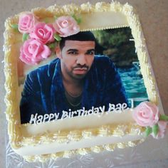 Drake birthday cake Birthday Cakes Pinterest Birthday cakes