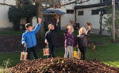 Volksschule Zell: Das Fest der Laternen und der Heilige Martin School Routines, Lanterns, Saints