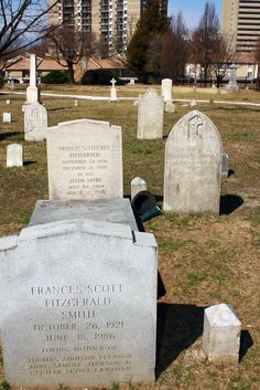 The Sordid Storyteller: Visiting the grave of F. Scott Fitzgerald by happenstance...
